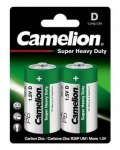 Батарейка Camelion HEAVY DUTY Green R20 BL2