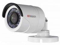Видеокамера HiWatch DS-T200(B) (2,8мм), 2Мп, TVI, AHD, CVI, CVBS, уличная
