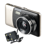 Видеорегистратор автомобильный Intego VX-395DUAL+камера