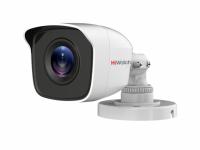 Видеокамера HiWatch DS-T110 (3,6мм), 1Мп, HD-TVI, CVBS, уличная