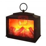 Декоративный камин Сканди с эффектом живого огня 18х9х16 см