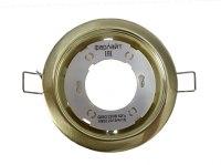 Светильник потолочный GX53 матовое золото Фарлайт