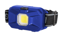 Фонарь налобный ФАЗА H8-L1W-bu (син)