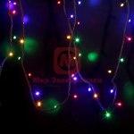 Гирлянда модульная Дюраплей LED 20м 200 LED черный каучук Мульти